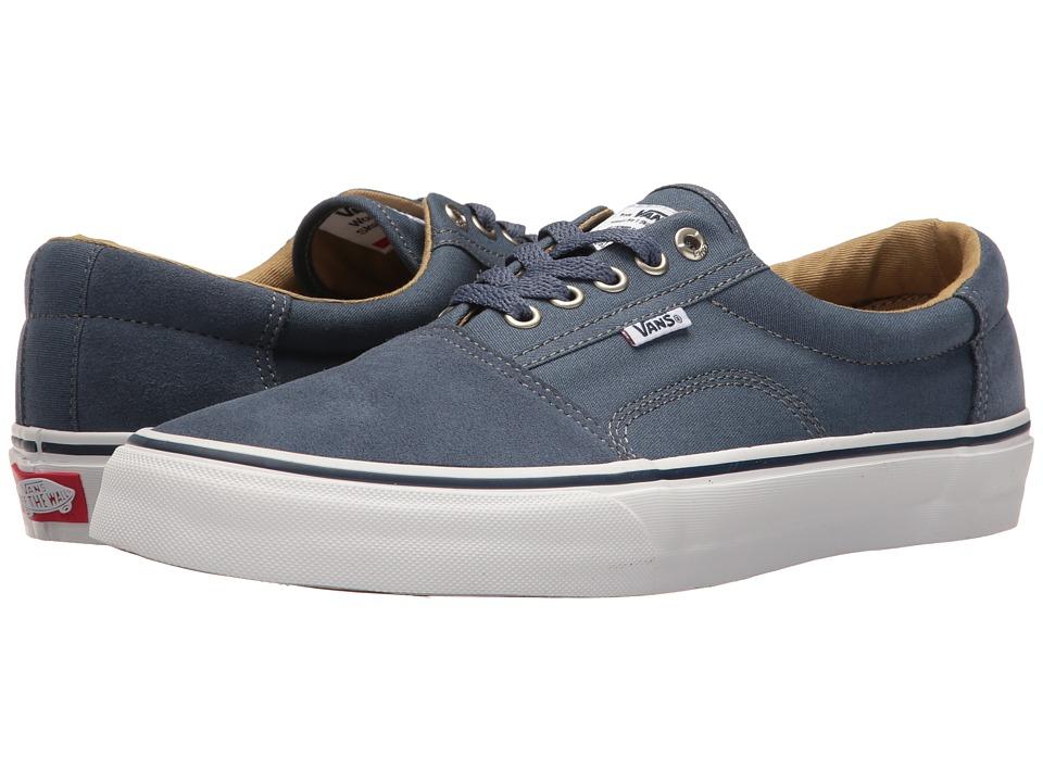 Vans - Rowley [Solos] (Indigo/White) Men's Skate Shoes