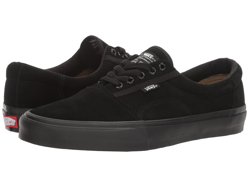 Vans - Rowley [Solos] (Black/Black/Black) Men's Skate Shoes