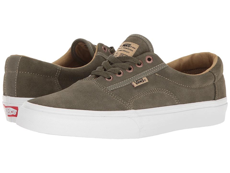 Vans - Rowley [Solos] (Grape Leaf/Khaki/White) Men's Skate Shoes