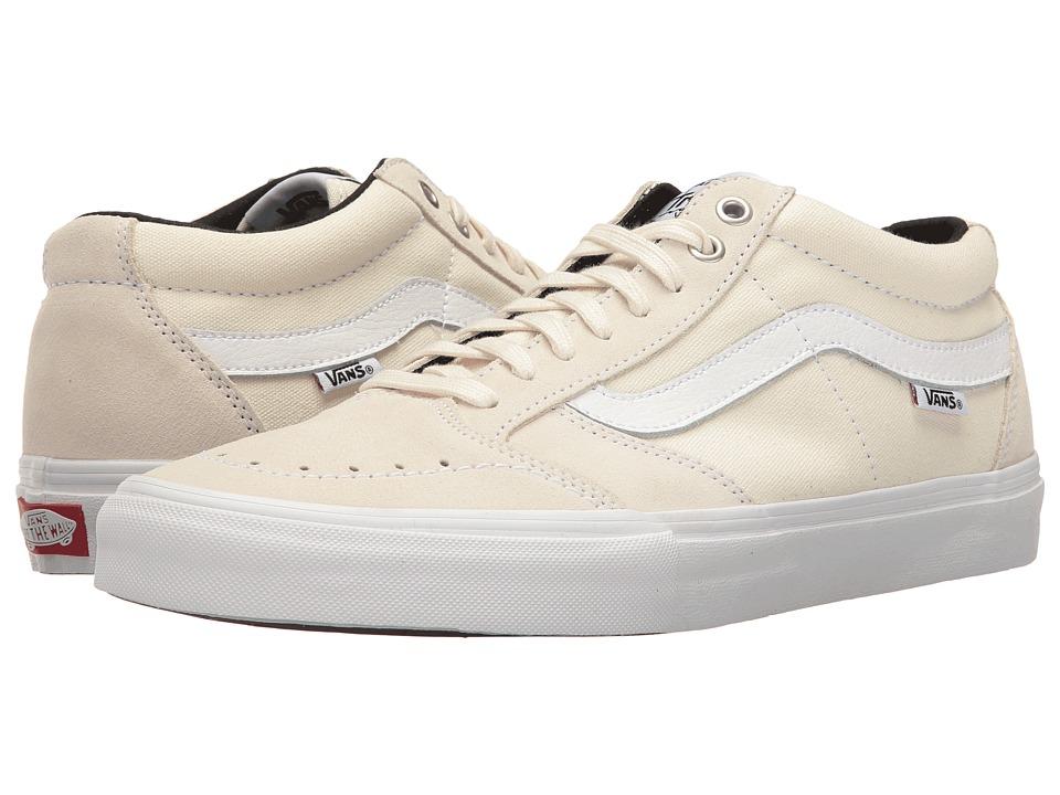 Vans - TNT SG (White/White) Men's Skate Shoes