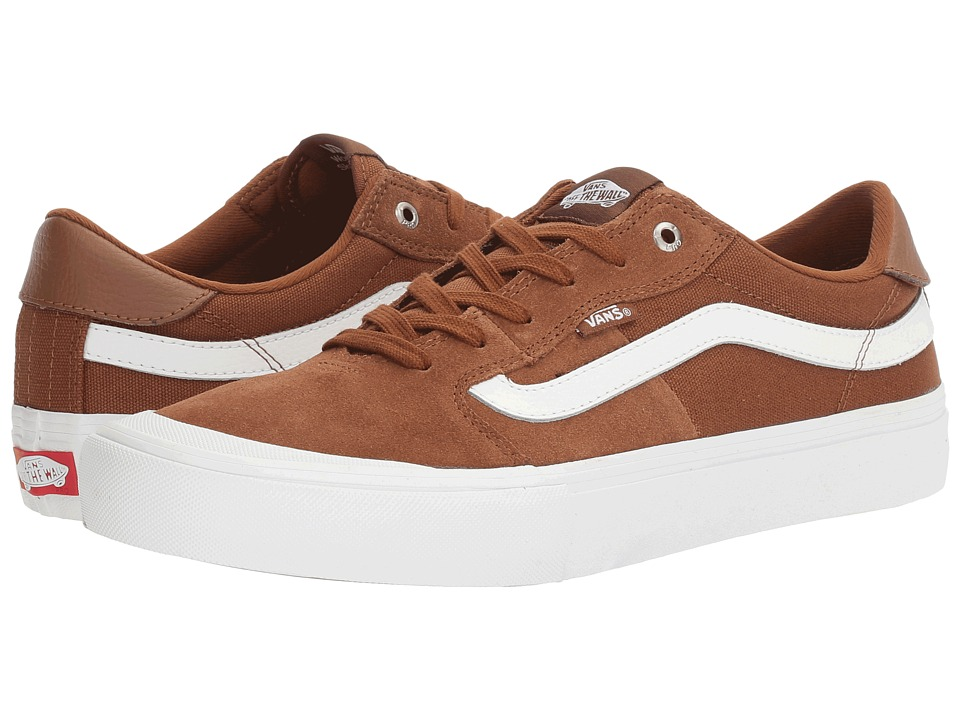 Vans - Style 112 Pro (Tobacco/White) Men's Skate Shoes