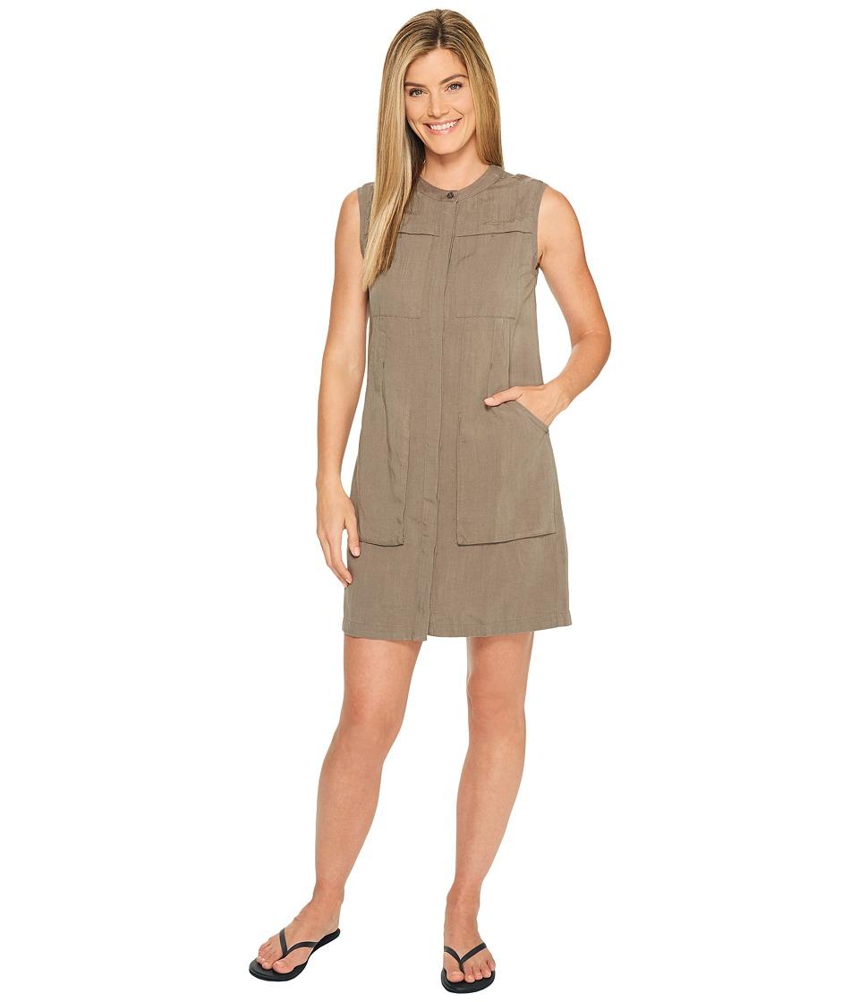 NAU Flaxible Sleeveless Dress (Sable) Women