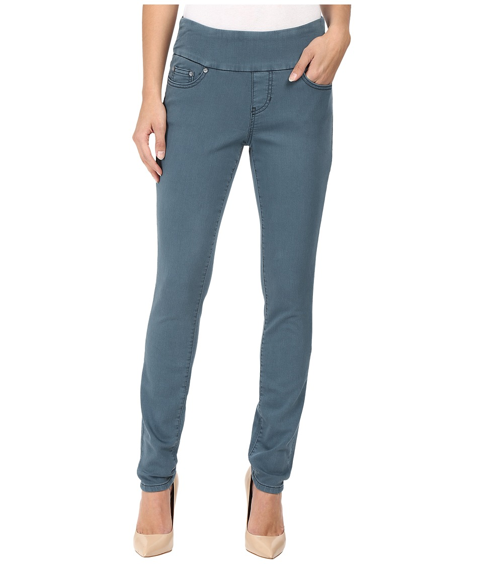 Jag Jeans Nora Pull-On Skinny Freedom Colored Knit Denim in Opal (Opal) Women