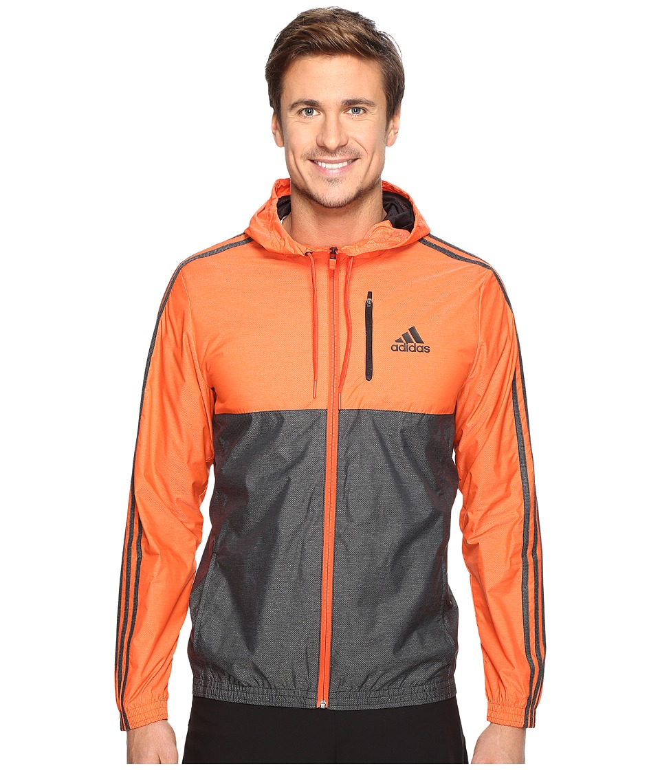 adidas - Essentials Wind Jacket (Energy/Black) Men's Coat