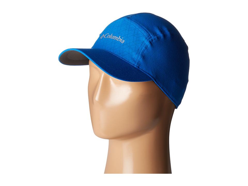 Columbia - Trail Flash Running Hat (Super Blue) Caps