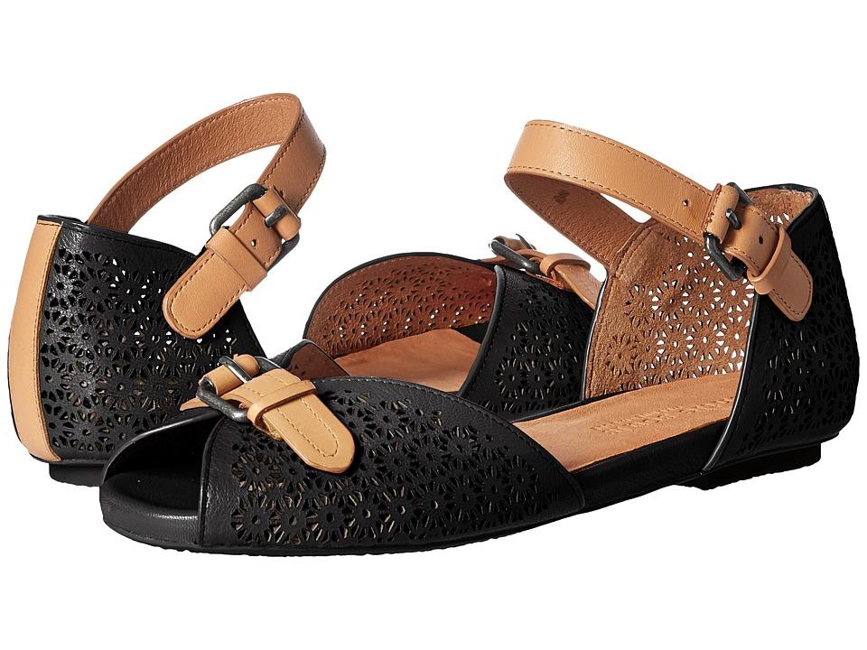 Gentle Souls - Bessie (Black) Women's Shoes