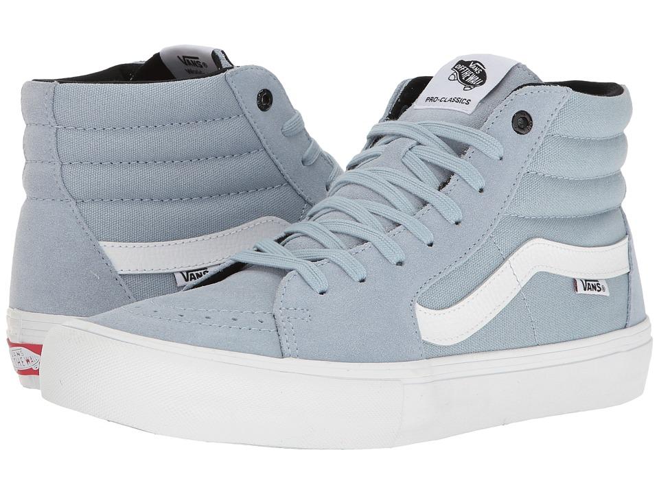 Vans - SK8-Hitm Pro (Blue Fog) Men's Skate Shoes