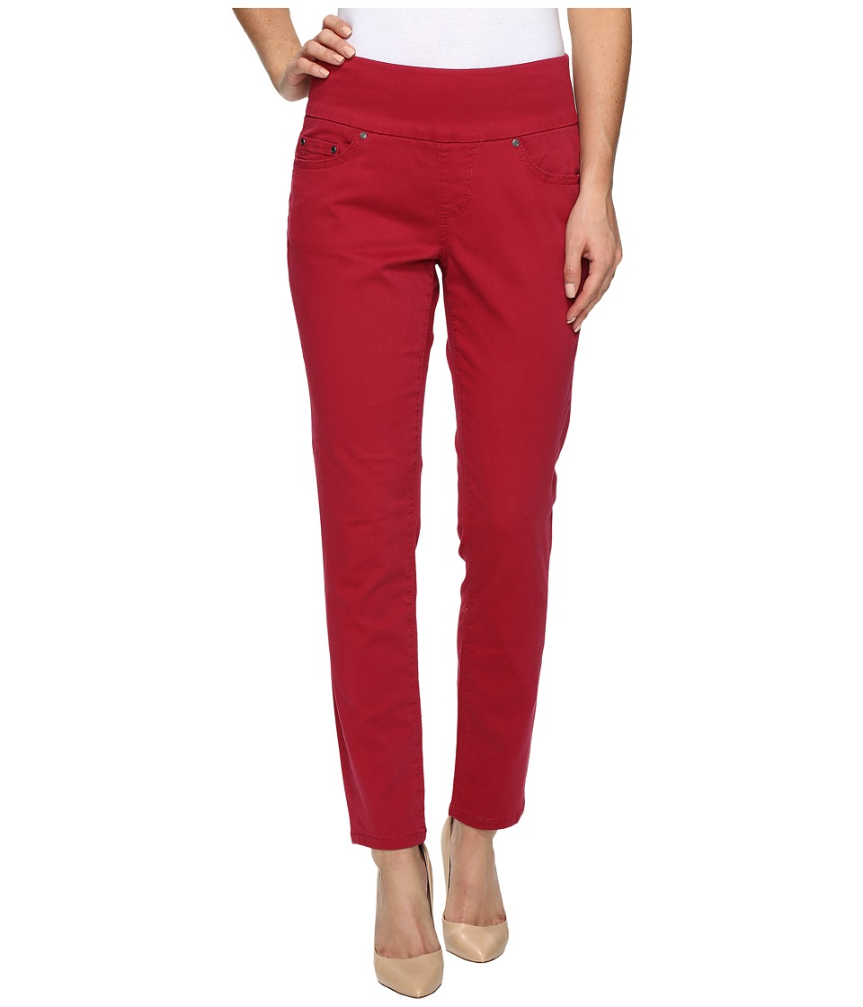 Jag Jeans - Amelia Ankle in Bay Twill (Winter Berry) Women's Casual Pants