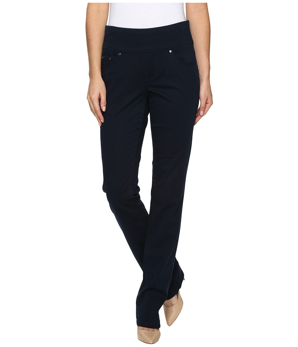 Jag Jeans - Peri Pull-On Straight Bay Twill (Nautical Navy) Women's Casual Pants