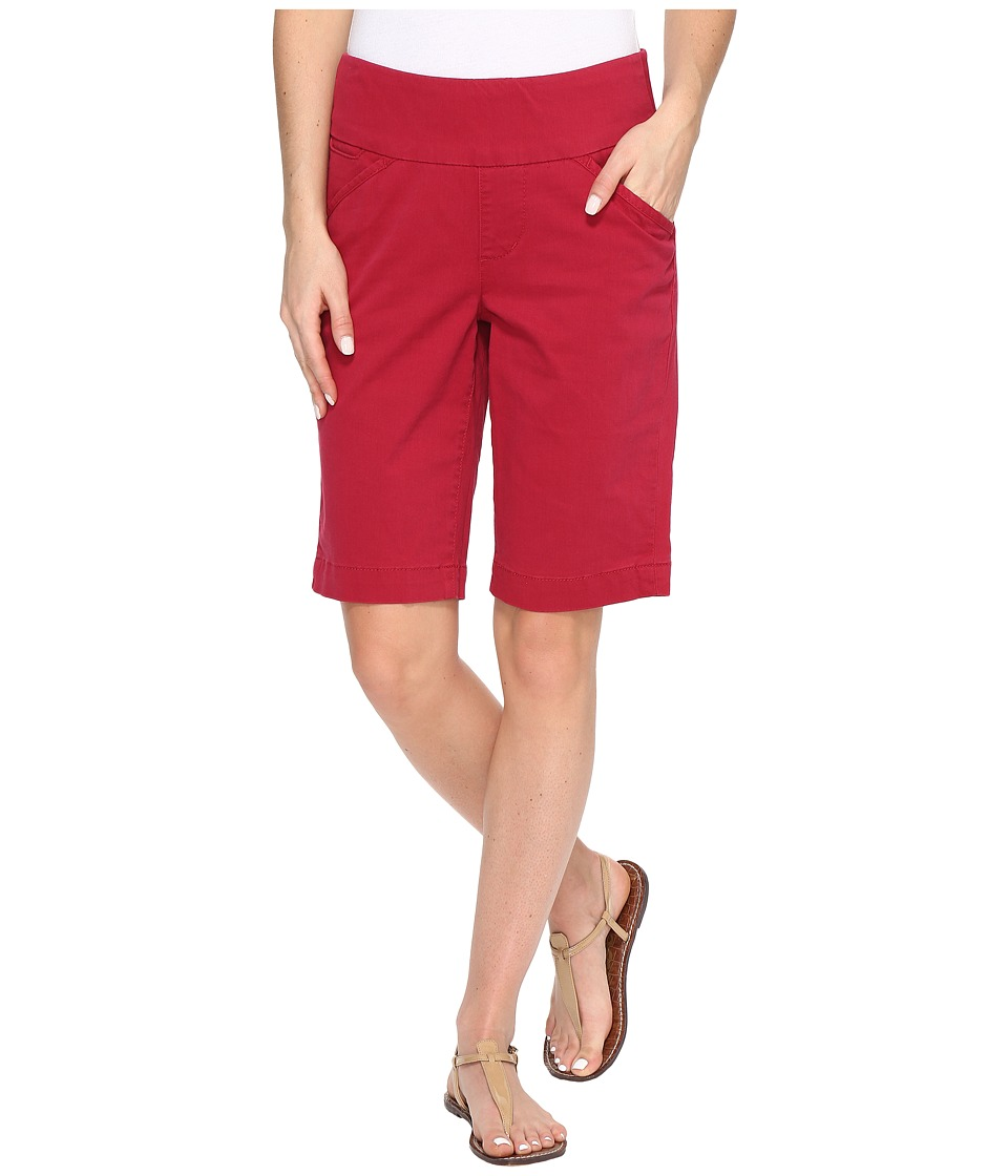 Jag Jeans - Ainsley Bermuda Classic Fit Bay Twill (Winter Berry) Women's Shorts