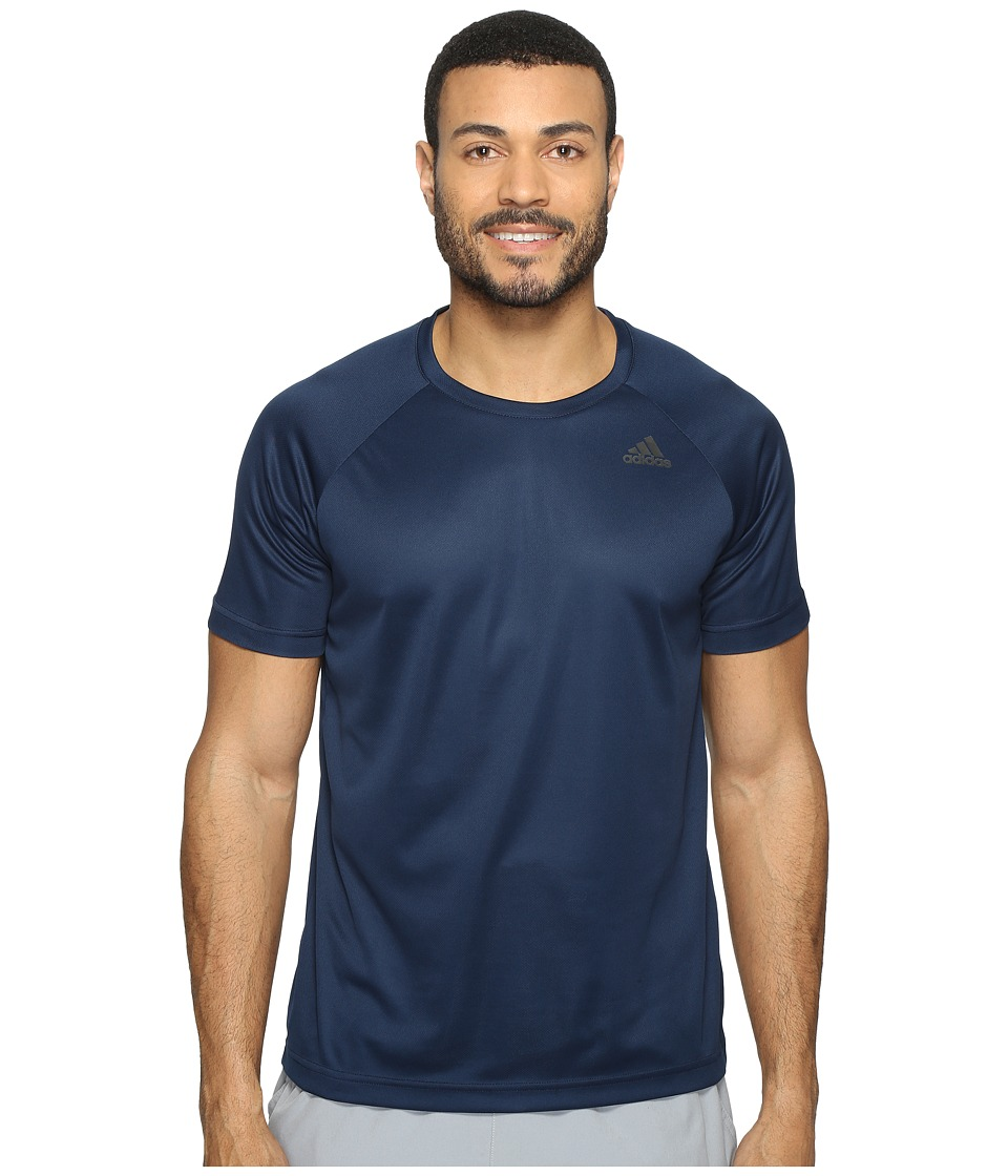 adidas - Designed-2-Move Solid Tee (Collegiate Navy) Men's T Shirt