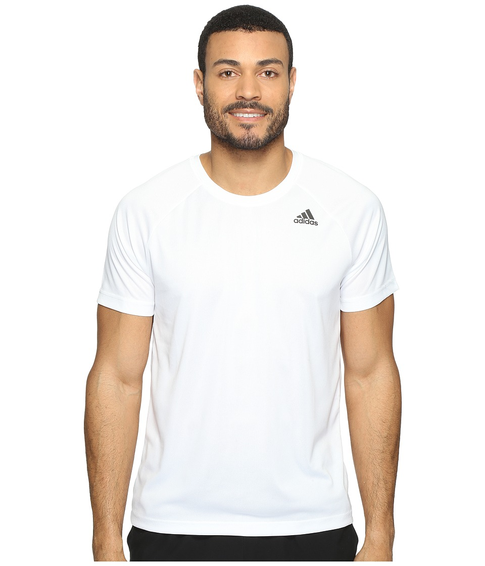 adidas Designed-2-Move Solid Tee (White) Men