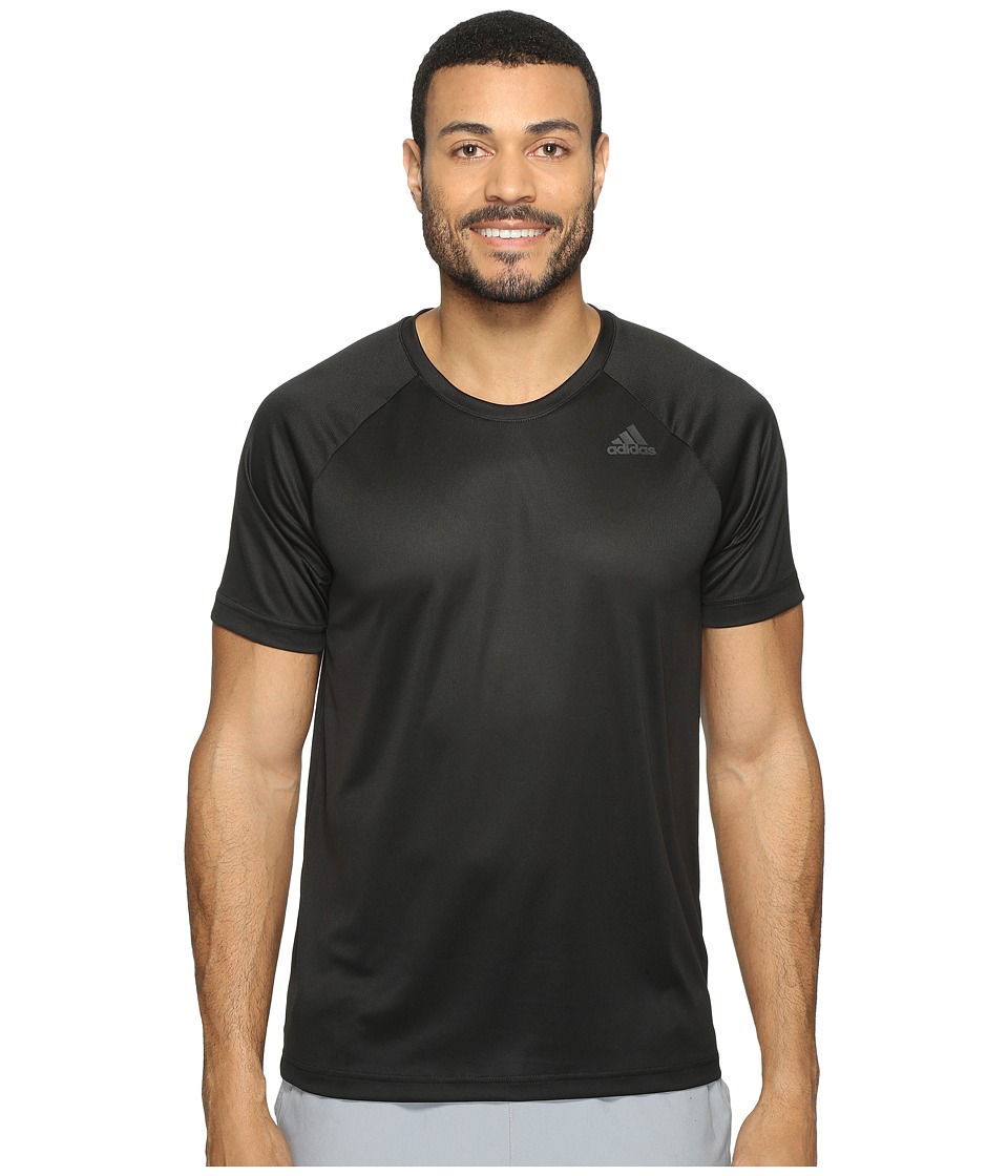 adidas - Designed-2-Move Solid Tee (Black) Men's T Shirt