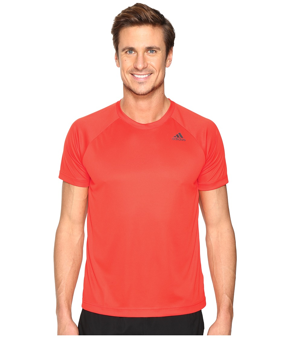 adidas - Designed-2-Move Solid Tee (Energy) Men's T Shirt