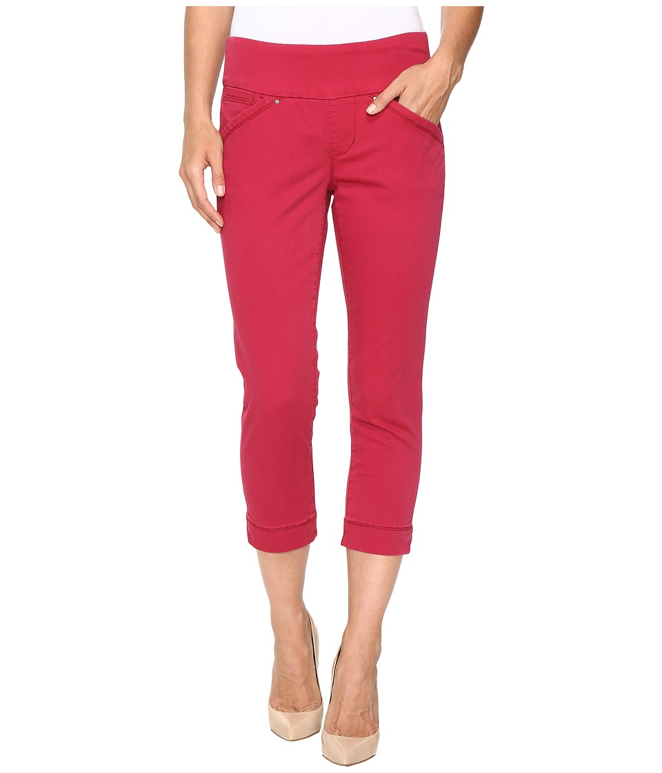 Jag Jeans - Marion Crop in Bay Twill (Winter Berry) Women's Jeans