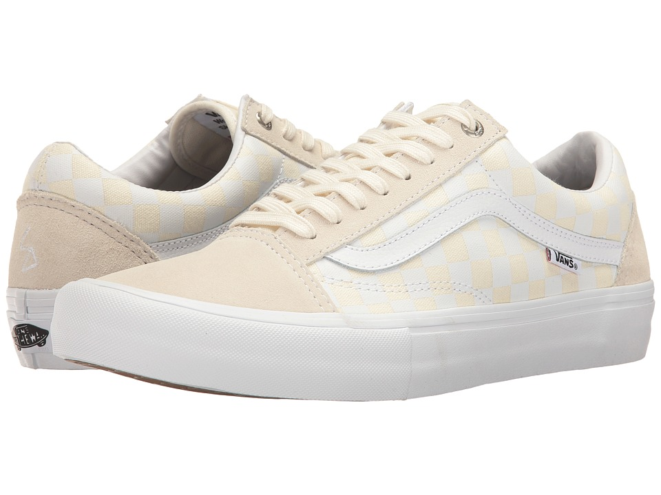 Vans - Old Skool Pro ((Rowan Zorilla) White) Men's Skate Shoes