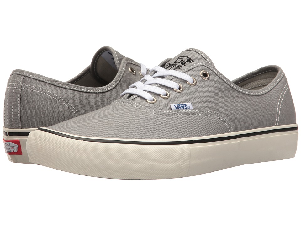 Vans - Authentictm Pro ((Elijah Berle) Grey) Men's Skate Shoes