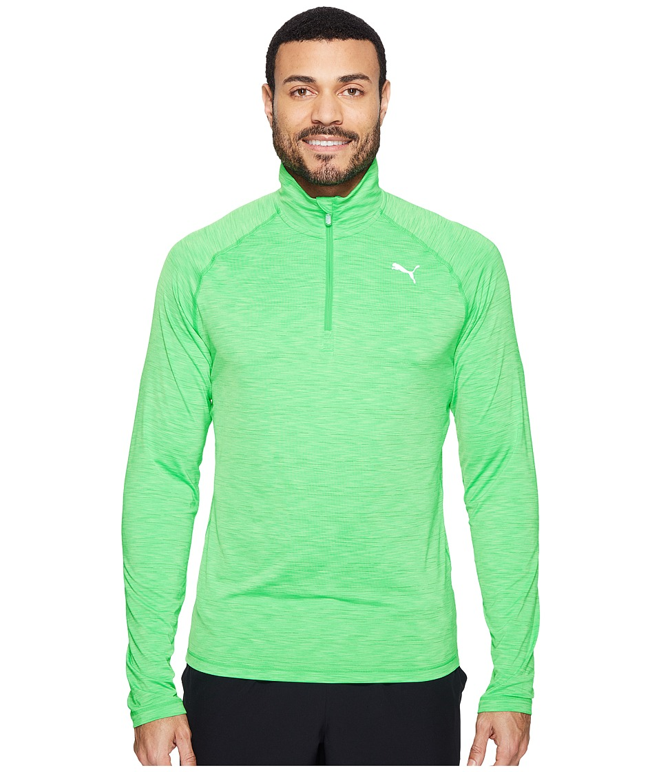 PUMA - Core Run Long Sleeve 1/2 Zip Tee (Andean Toucan) Men's Clothing