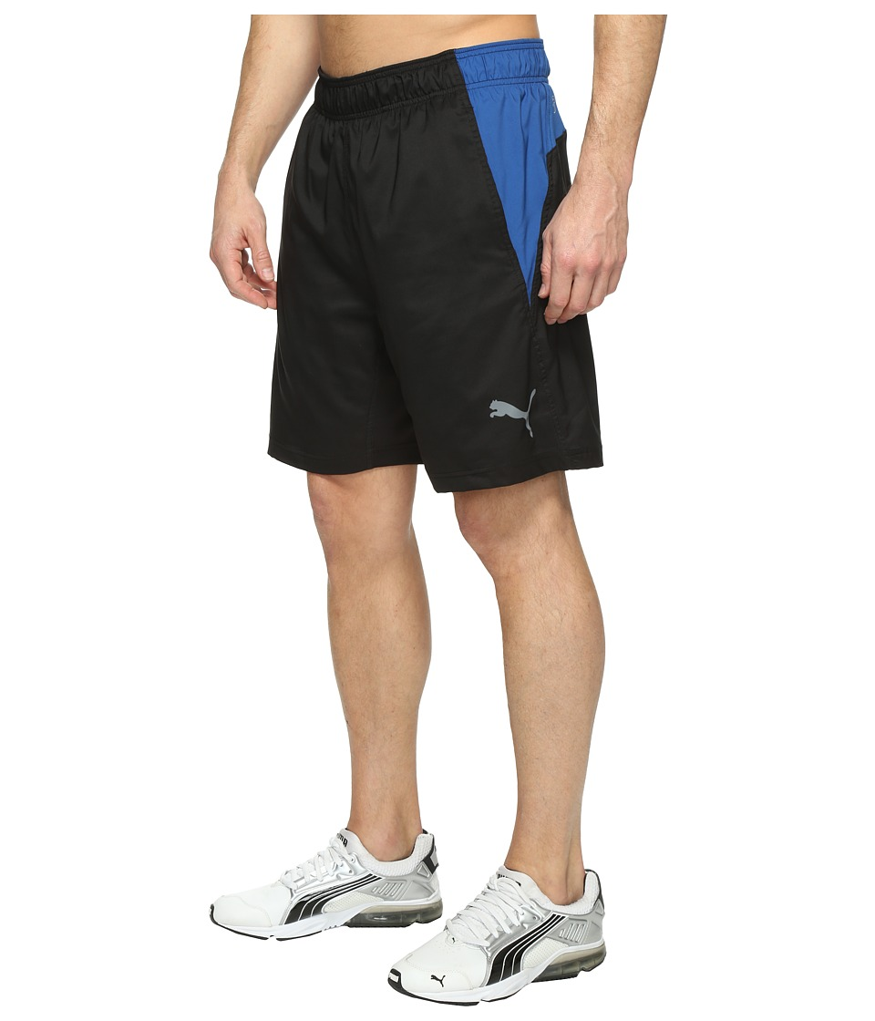 PUMA - Reps Woven 2-In-1 Shorts (Puma Black/True Blue) Men's Shorts