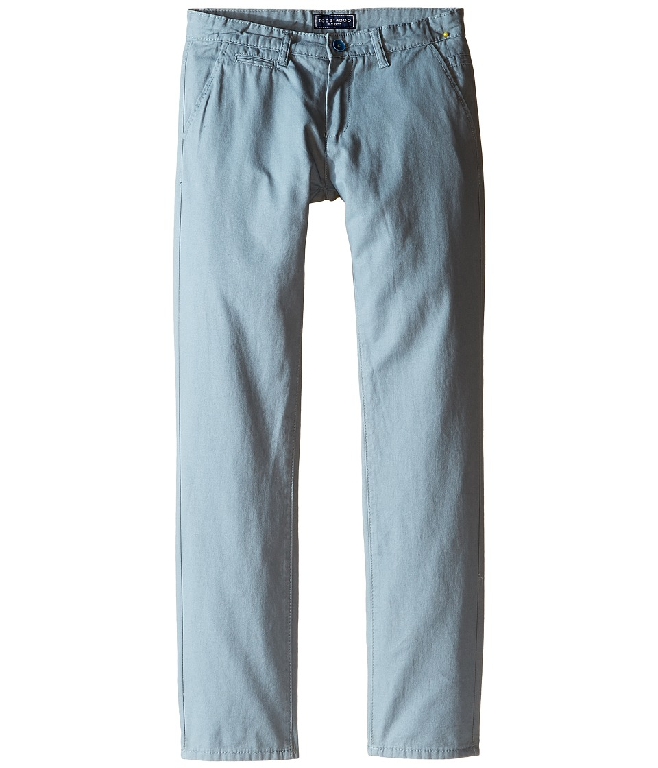 Toobydoo - The Perfect Fit Chino (Infant/Toddler/Little Kids/Big Kids) (Steel Blue) Boy's Casual Pants