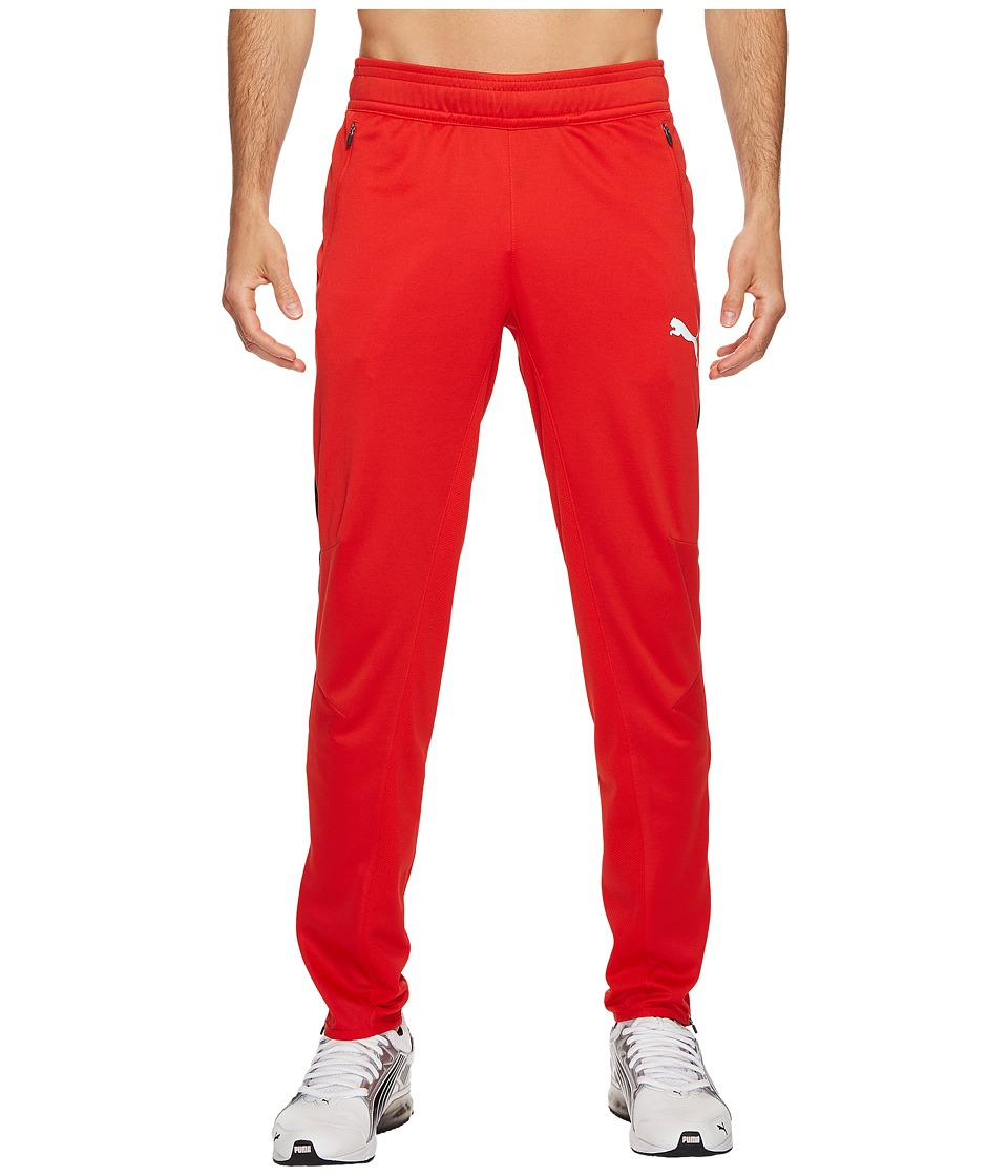 PUMA - Flicker Pants (Puma Red/Puma Black) Men's Workout