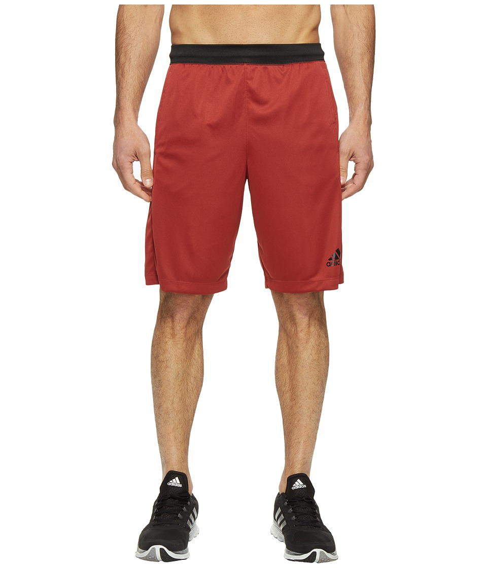 adidas - SpeedBreaker Tech Shorts (Mystery Red) Men's Shorts