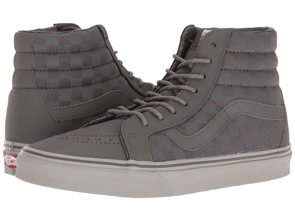 Vans - Sk8-Hi Reissue DX ((Transit Line) Pewter/Reflective) Men's Skate Shoes