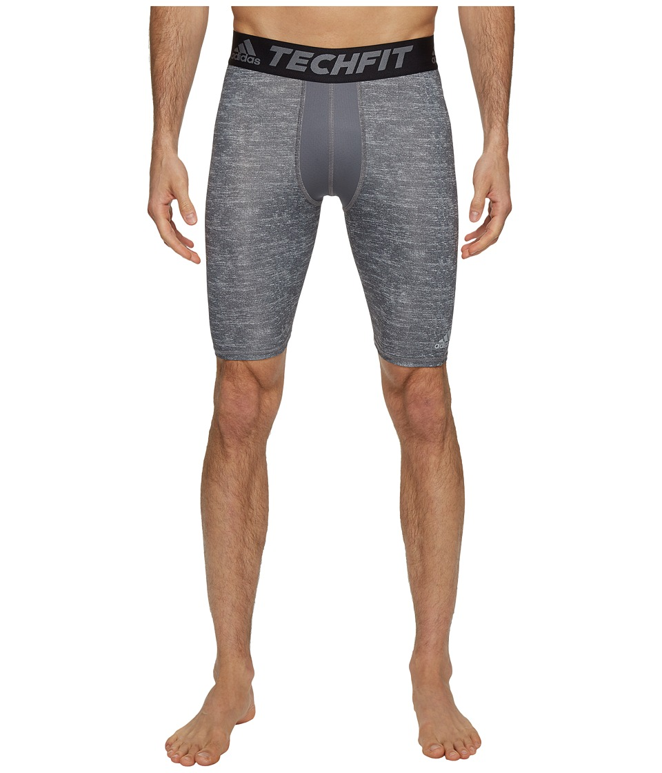 adidas Techfit Base Layer Short Tights (Core Heather) Men