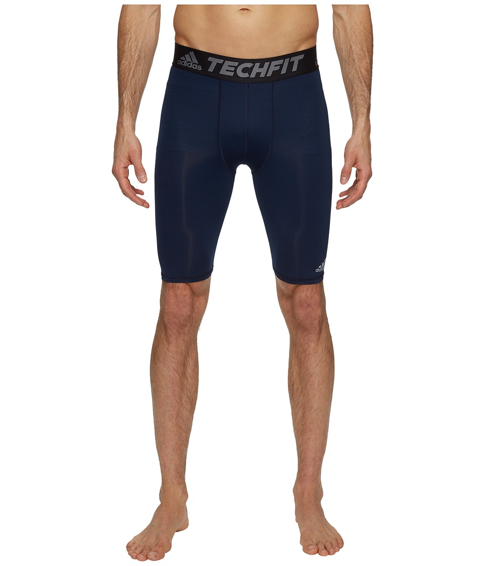 adidas - Techfit Base Layer Short Tights (Collegiate Navy) Men's Casual Pants