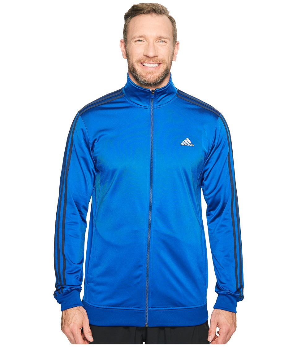adidas - Big Tall Essentials Track Jacket (Collegiate Royal/Collegiate Navy) Men's Coat