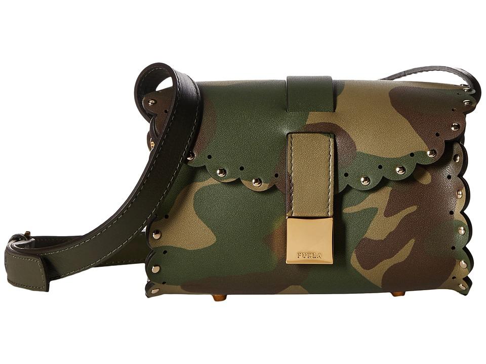 Furla - Amazzone Mini Crossbody (Militare) Cross Body Handbags