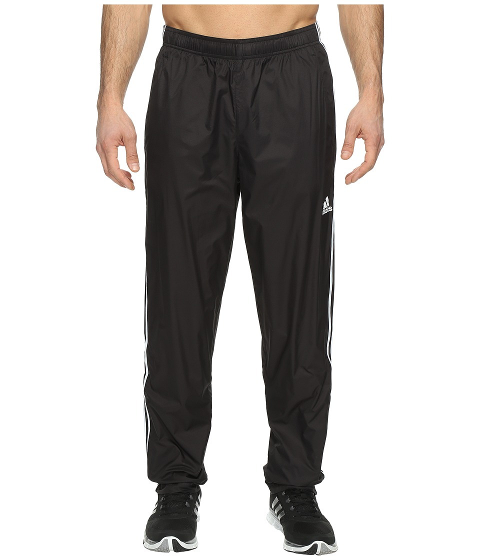 adidas - Big Tall Essentials Wind Pants (Black/White) Men's Workout