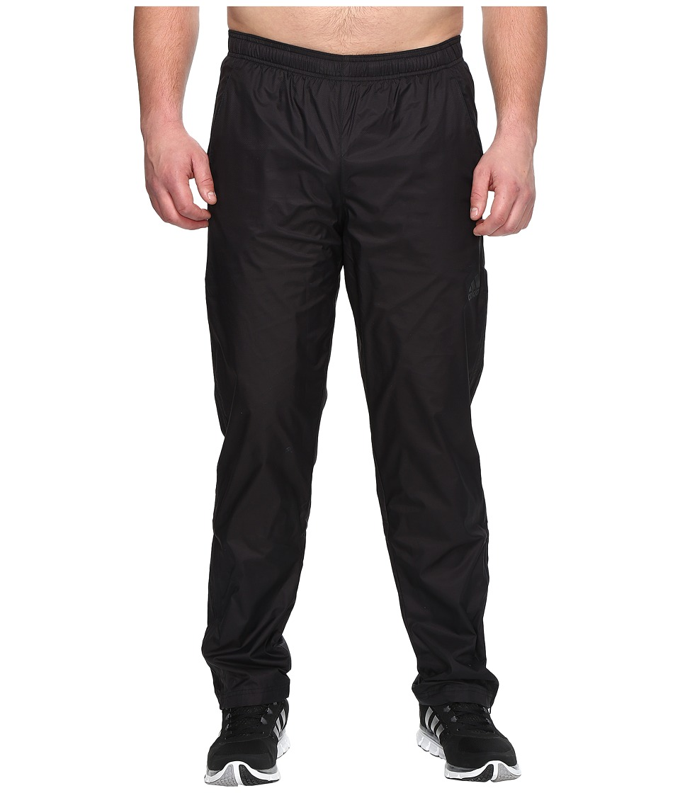 adidas - Big Tall Essentials Wind Pants (Black/Black) Men's Workout