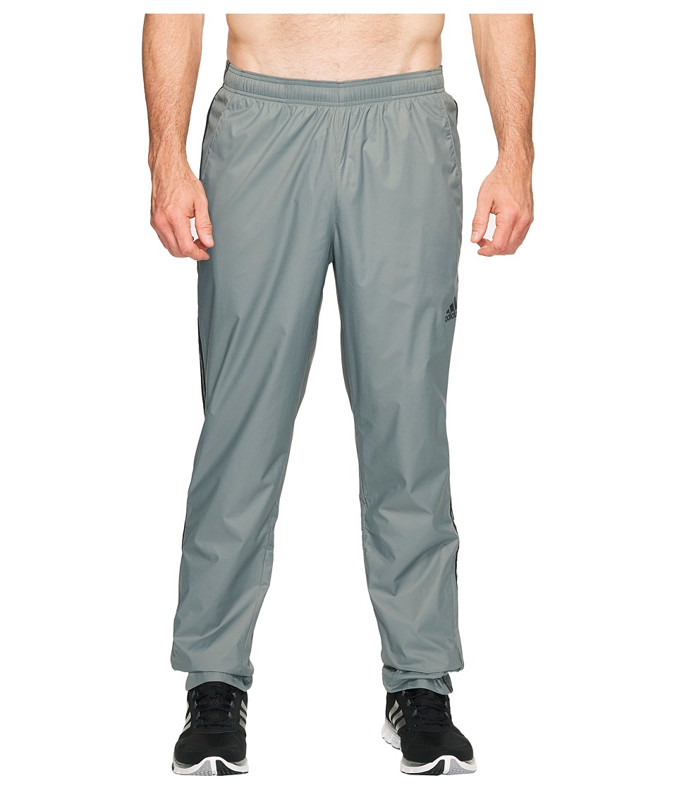 adidas - Big Tall Essentials Wind Pants (Vista Grey/Black) Men's Workout