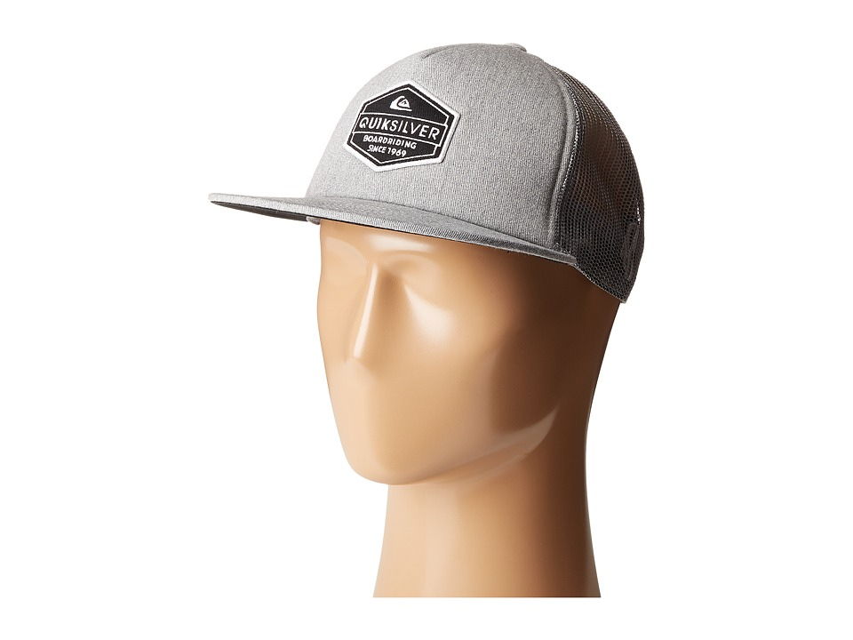 Quiksilver - Marbleson (Light Grey Heather) Caps