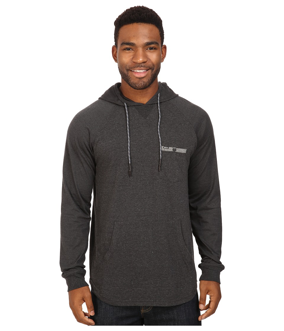 Rip Curl - Clive Long Sleeve Knit (Black) Men's Clothing