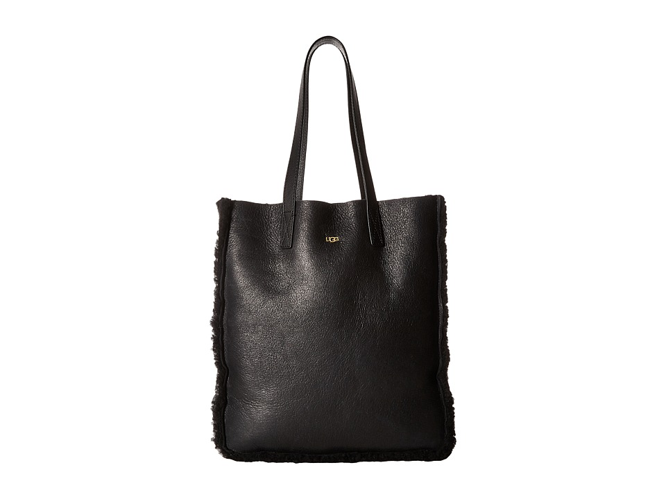 UGG - Claire Tote (Black Bomber) Tote Handbags