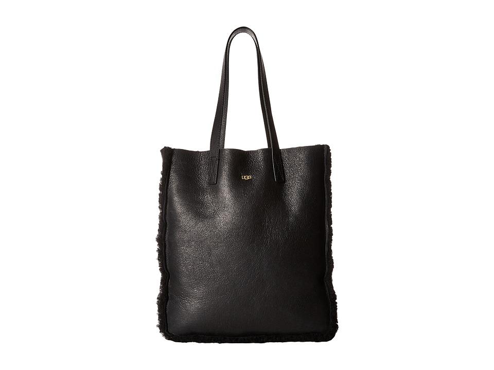 UGG - Claire Tote (Black Bomber) Tote Handbags
