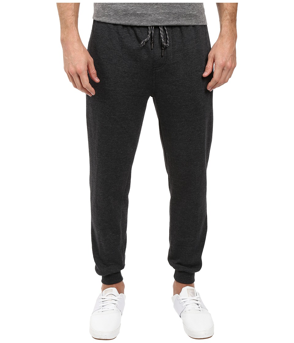 Rip Curl - Dawn Patrol Fleece Pants (Black) Men's Casual Pants