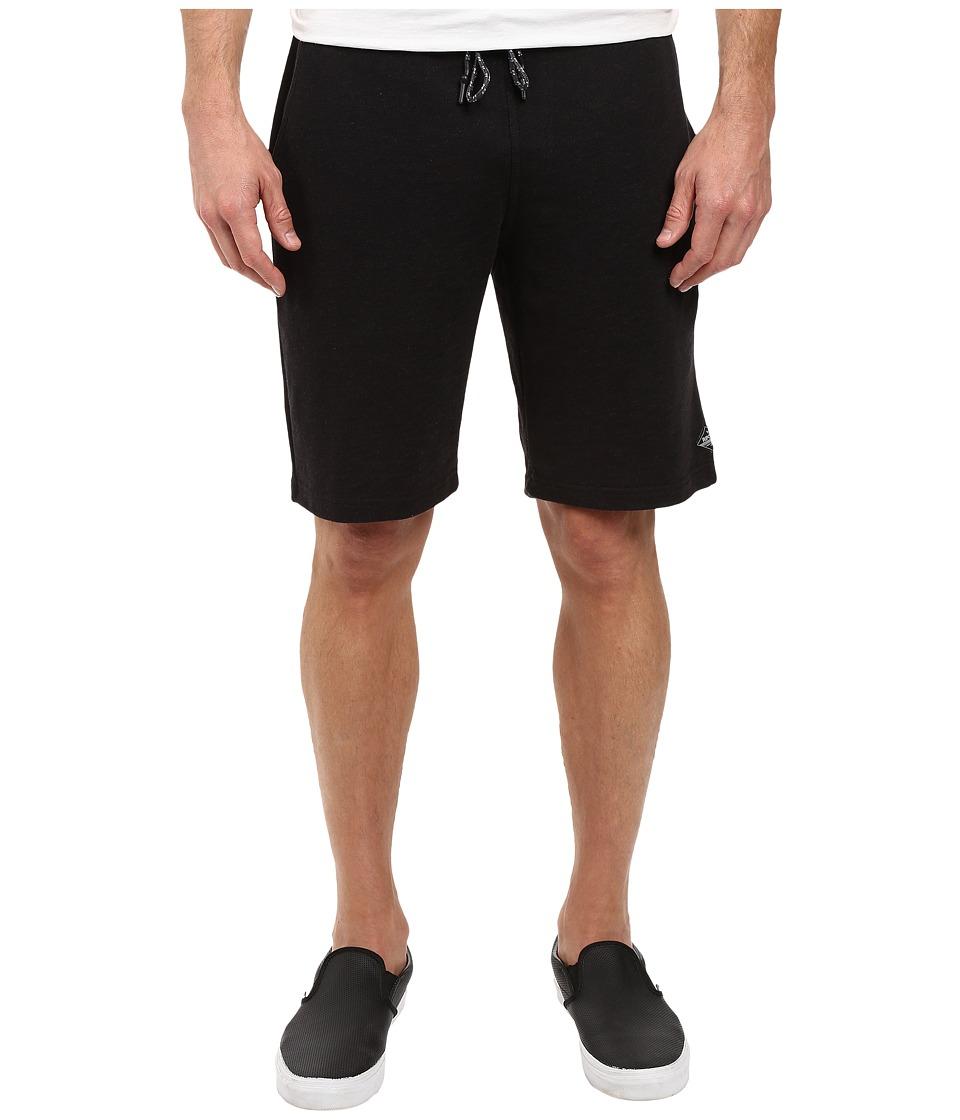 Rip Curl - Baez Fleece Shorts (Black) Men's Shorts