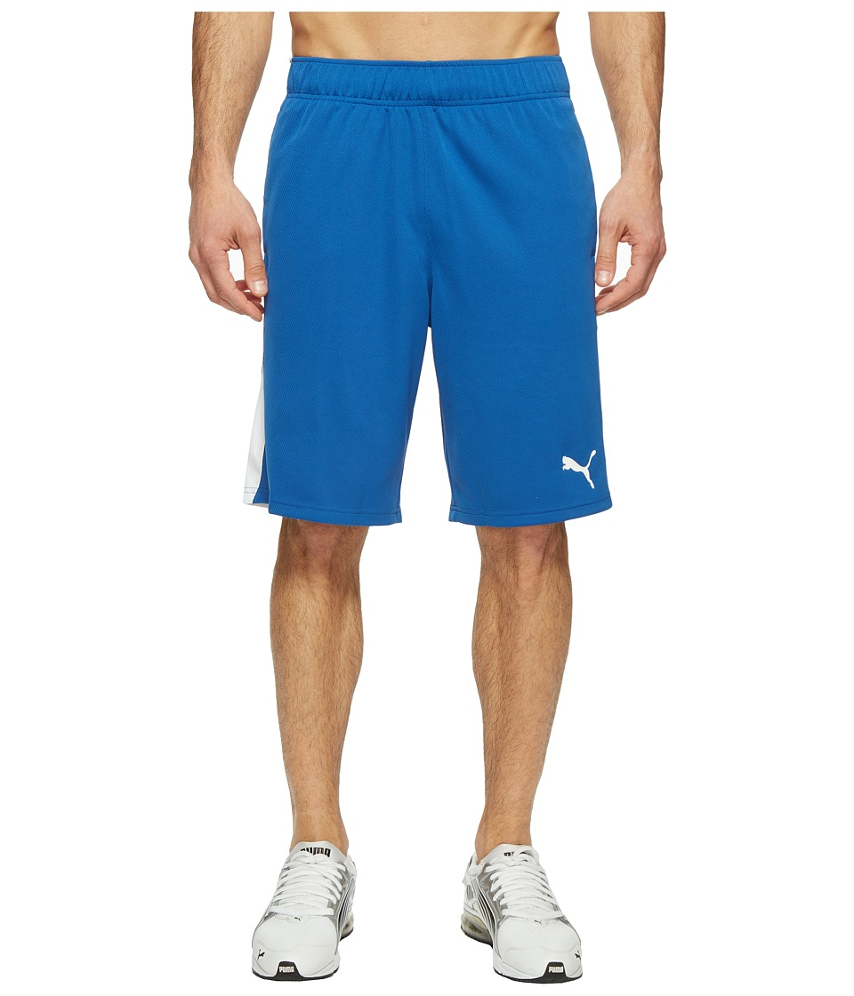 PUMA - Formstripe Mesh Shorts (True Blue/Puma White) Men's Shorts