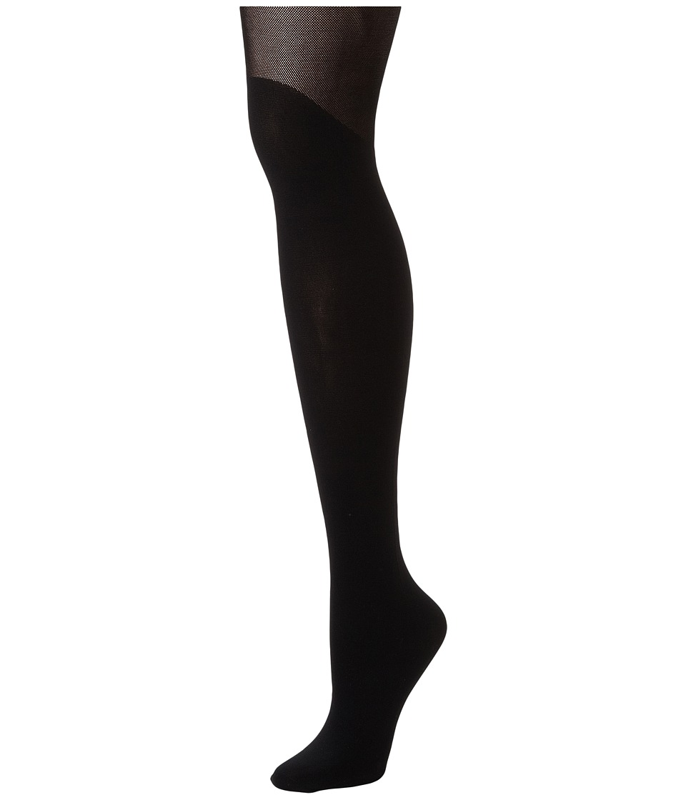 Pretty Polly - Over The Knee Tights (Black) Hose