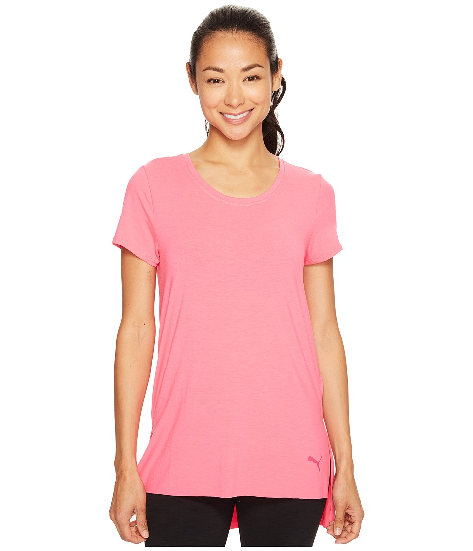 PUMA - Future Female Tee (Knockout Pink) Women's Clothing