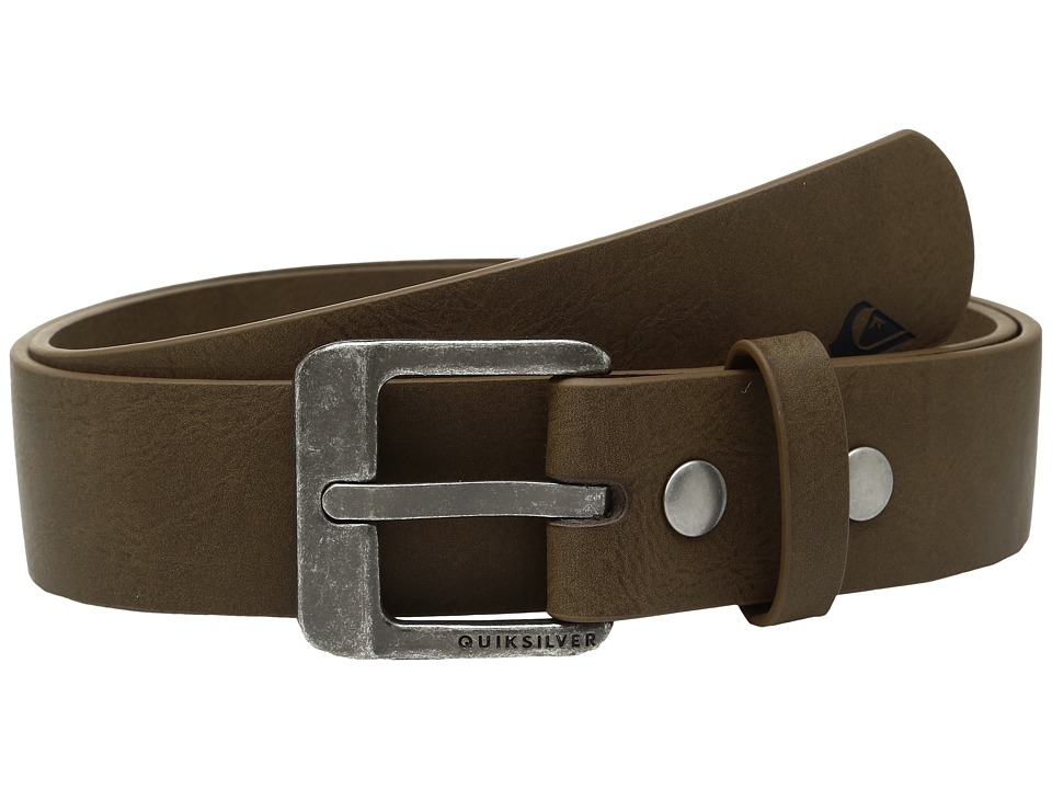 Quiksilver - Main Street II (Chocolate) Men's Belts