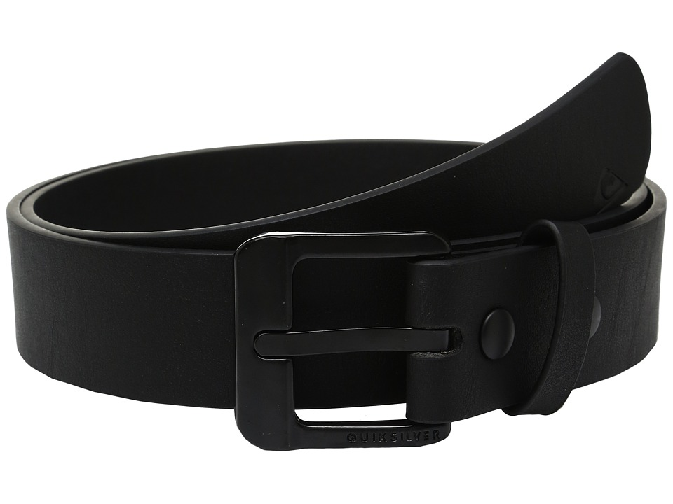 Quiksilver - Main Street II (Black) Men's Belts