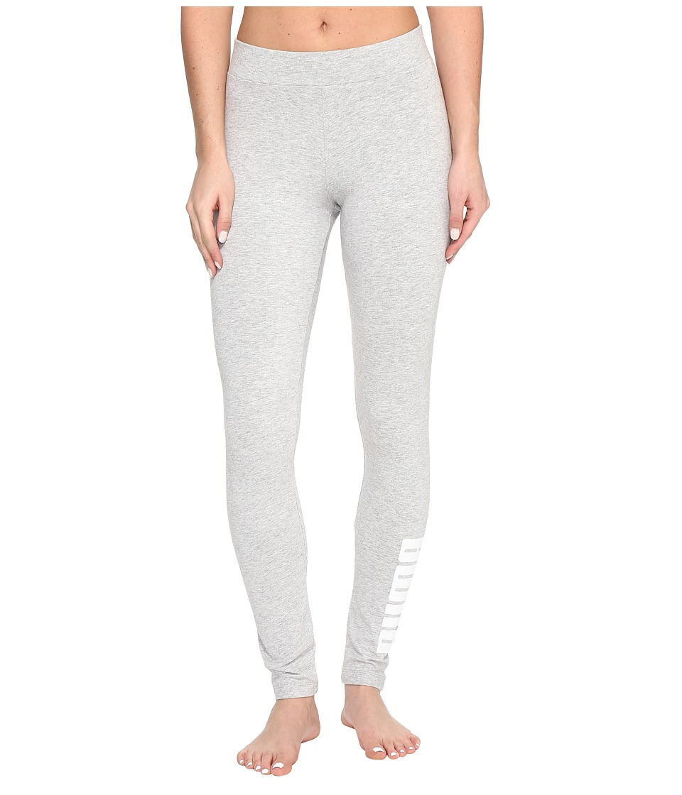 PUMA - Archive Logo T7 Leggings (Light Gray Heather) Women's Workout