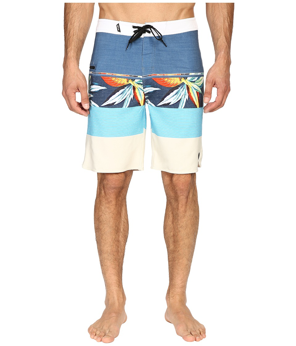 Rip Curl - Mirage Sections Boardshorts (Blue) Men's Swimwear