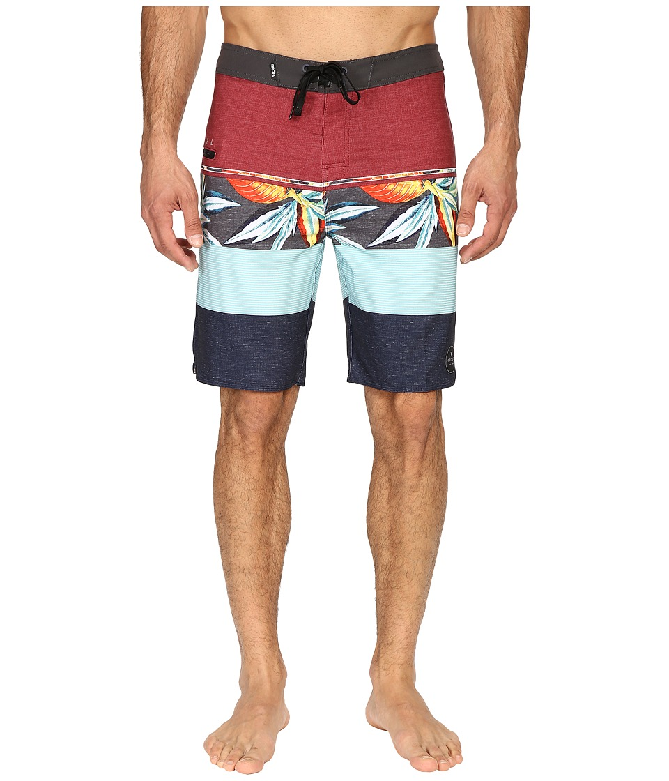 Rip Curl - Mirage Sections Boardshorts (Red 1) Men's Swimwear