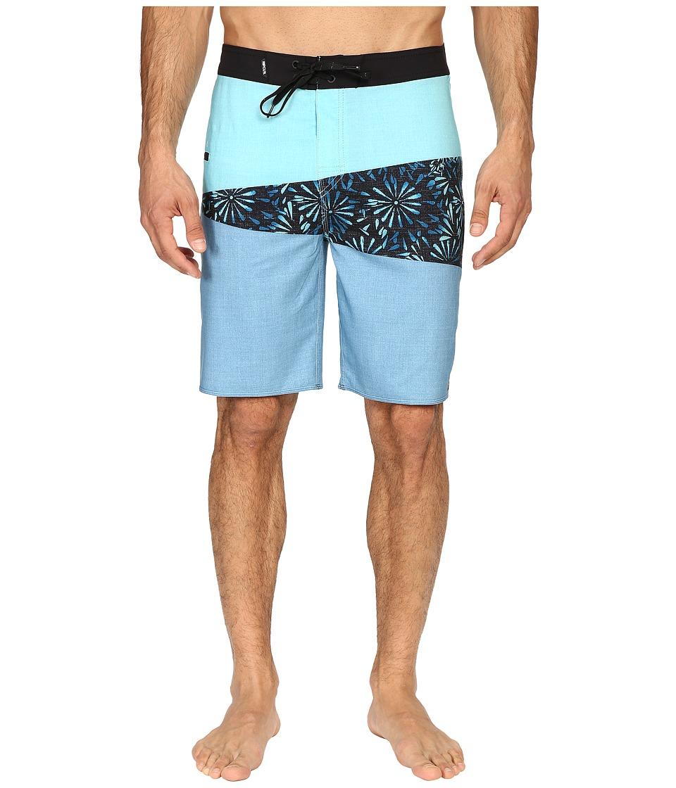 Rip Curl Mirage Wedge Boardshorts (Blue) Men