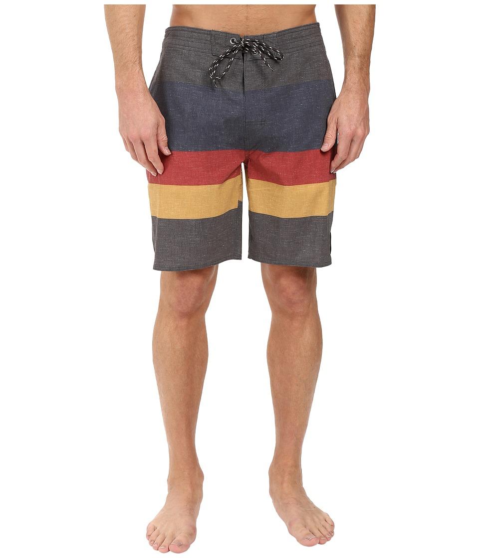 Rip Curl - The Bends Boardshorts (Black) Men's Swimwear